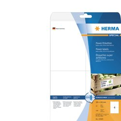 Etiket Herma Power 10909 105x148mm wit 100stuks