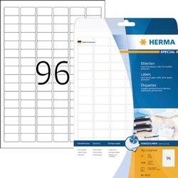 Etiket Herma 8832 30.5x16.9mm mat wit 2400stuks