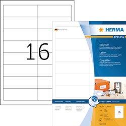 Etiket Herma 4815 96.5x33.8mm wit 1600stuks