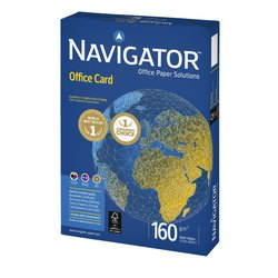 Kopieerpapier Navigator Office Card A4 160gr wit 250vel