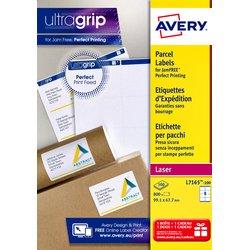 Etiket Avery L7165 99.1x67.7mm dekkend wit 800stuks