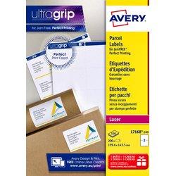 Etiket Avery L7168-100 199.6x143.5mm wit 200stuks wit