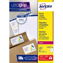 Etiket Avery L7167-100 199.6x289.1mm 100stuks wit