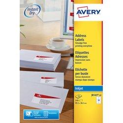 Etiket Avery J8163-10 99.1x38.1mm wit 140stuks