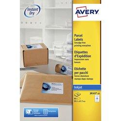 Etiket Avery J8165-10 99.1x67.7mm wit 80stuks
