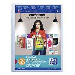 Showalbum Oxford Polyvision A4 20-tassen PP transparant