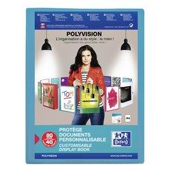 Showmap Oxford Polyvision 40-tassen blauw