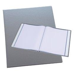 Showmap Rillstab A4 Trendline 10-tassen zilver