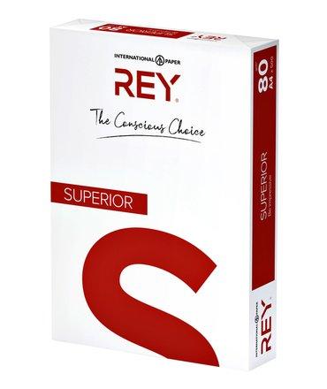 Kopieerpapier Rey Superior A4 80gr wit 500vel