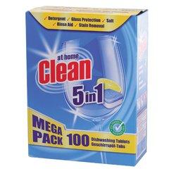 Vaatwastabletten Clean All-in-One 100 stuks