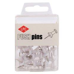 Push pins LPC 40stuks wit