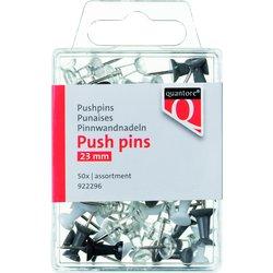 Push pins Quantore blister assorti