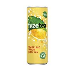 Frisdrank Fuze Tea sparkling lemon 250ml