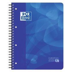 Projectboek Oxford School A4+ 4-gaats lijn 120vel blauw