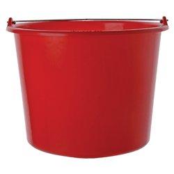 Emmer kunststof 12l rood
