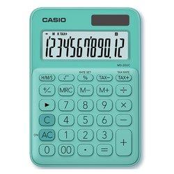 Rekenmachine Casio MS-20UC groen