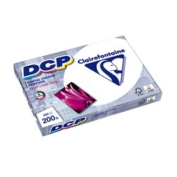 Laserpapier Clairefontaine DCP A4 200gr wit 250vel