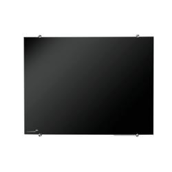 GLASSBOARD LEGA ZWART 90 X 120 CM