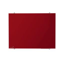 GLASSBOARD LEGA ROOD 90 X 120 CM