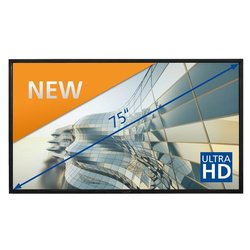 e-Screen STX-7550UHD black 75