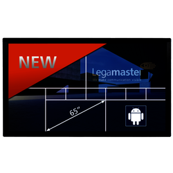 E-screen ETX-6510UHD black LegaMaster