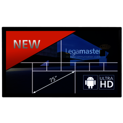 E-screen ETX-7510UHD black LegaMaster