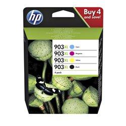 Inktcartridge HP 3HZ51AE 903XL zwart + 3 kleuren HC
