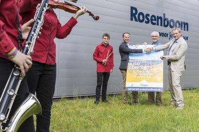Rosenboom sponsor AJSO concert Havenfestival