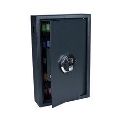 Sleutelkast Pavo high security met fingerprintslot 50 haken 550x400x100mm