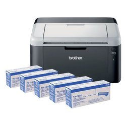 Laserprinter Brother HL-1212 + 4 extra toners TN-1050