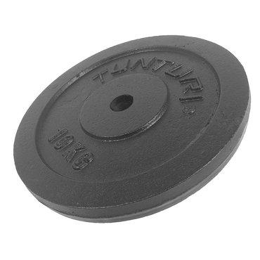 Tunturi Halterschijf - 1 x 10kg - Gietijzer