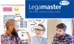 Legamaster whiteboards