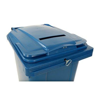 Afvalbakken afsluitbaar