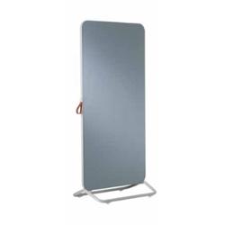 Chameleon Mobile verrijdbaar dubbelzijdig glasbord grijs