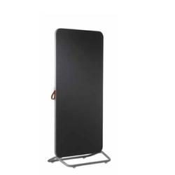 Combiboard Chameleon Mobile verrijdbaar whiteboard emaille wit/bulletin zwart
