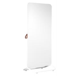 Chameleon Mobile verrijdbaar dubbelzijdig whiteboard emaille wit/bulletin grijs
