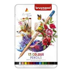 Kleurpotloden Bruynzeel Expression colour blik à 12 stuks assorti