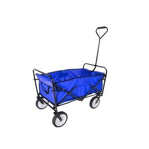 Bolderkar blauw opvouwbaar