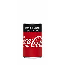 Frisdrank Coca Cola Zero blikje 0.15l