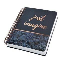 Notitieboek Sigel Jolie A5 spiraal Mystic Jungle