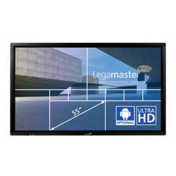 e-Screen ETX-5510UHD black LegaMaster