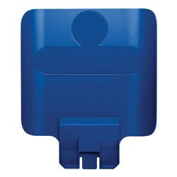 Paneel Slim Jim Recyclestation blauw