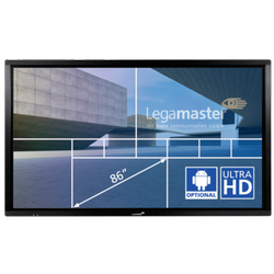 E-screen ETX-8610UHD black LegaMaster