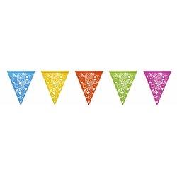 Vlaggenlijn Haza colorful 6m