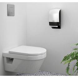 Dispenser Katrin 104582 toiletpapier doprol wit