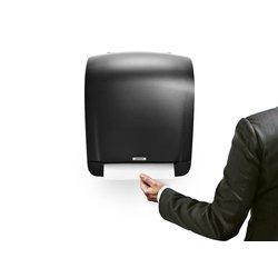 Dispenser Katrin 92025 handdoekkenrol zwart