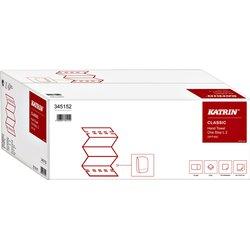 Handdoek Katrin 345152 Classic L2 2laags 24x34cm 21x110st