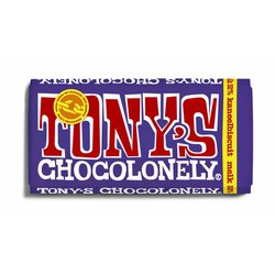 Chocolade Tony's Chocolonely melk kaneelbiscuit 180gr