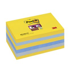 Memoblok 3M Post-it 655 Super Sticky 76x127mm New York