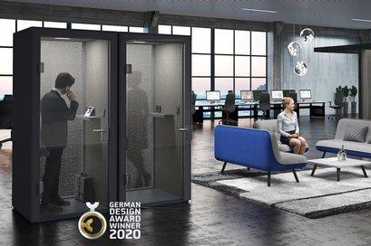 QUIET.BOX bekroond met German Design Award